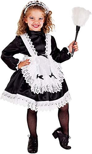 Carnevale Venizano CAV5078-5 - Kinderkostüm CAMERIERA Baby - Alter: 1-6 Jahre - Größe: 5 (Cameriera Kostüm)