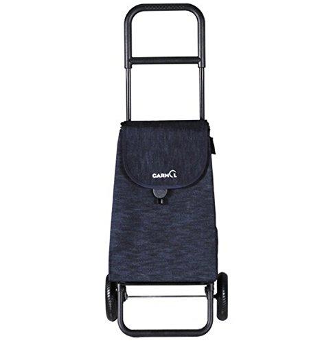 Garmol 218epc-44 Einkaufstrolley, 2 Räder, 40 l, Jeans