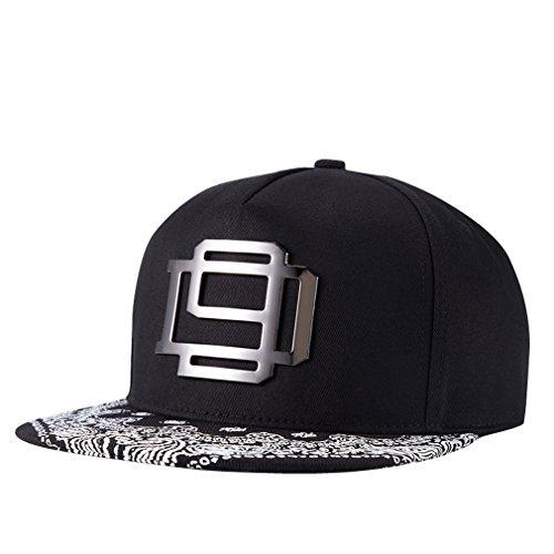 GoGou-Hüte - Metalldekor Mode Rapper / Hip-Hop Caps (Hat Rapper)