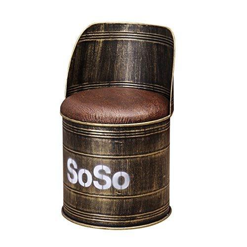 Small seat Atmospheric Fashion Bar Stuhl/Hocker, praktische Esszimmerstuhl, Vintage Style Storage Hocker,AA,* 02