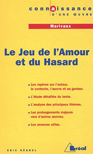 LE JEU DE L'AMOUR ET DU HASARD, MARIVAUX. Edition 2000