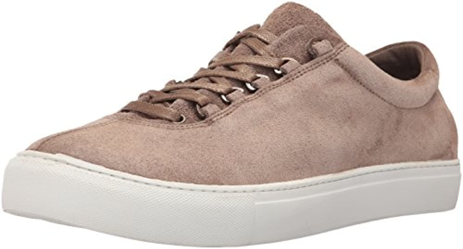 K Swiss Men's Court Classico Suede Fashion Sneaker  Taupe/White  8 M US