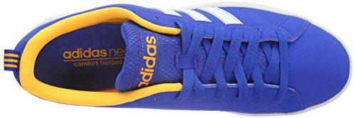 Adidas neo - Advantage Clean VS, Scarpe da ginnastica Uomo Blau (Blue/Ftwr White/Solar Gold)
