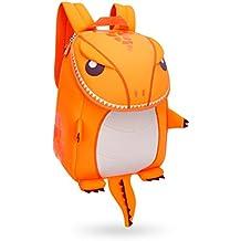 GreenForest ni?os regalo ni?o mochilas ni?os mochila - animales lindos de la historieta - Navidad regalo para 3-8 a?os