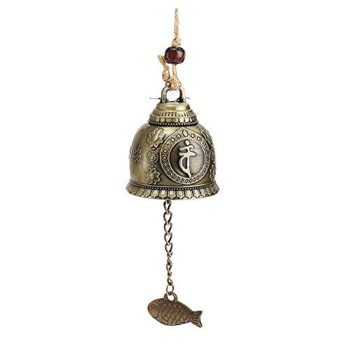 pu ran- -- rétro Bouddha Carillon Feng Shui Good Luck Fortune Bell Maison de Voiture à Suspendre Décor
