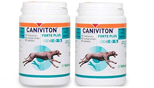 VETOQUINOL CANIVITON Forte Plus 2 x 90 Compresse