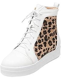 Zanpa Mujer High Top Botines de Zapatos