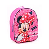 Disney Minnie Mouse Sac à Dos Enfants Rose 9,5 L - Dotty about Dots 3D