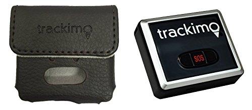 Trackimo TRKM002 GPS Tracker + kit per auto - dispositivo di localizzazione mini magnetico personale globale in tempo reale per auto moto bambini cani anziani bagagli