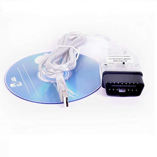 NiceCheck K+DCAN Inpa Cavo USB Interfaccia INPA/Ediabas OBD Can Diagnostic Cavo con Interruttore per B M W