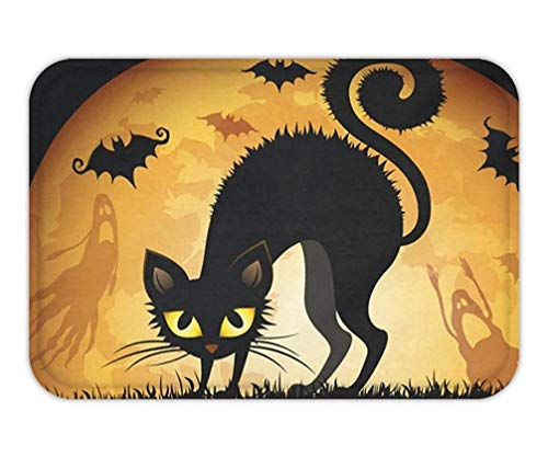 Trsdshorts Doormat Halloween Cat Cotton Linen .jpg (Für Halloween Loofahs)