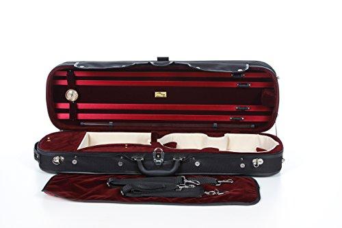Custodia per violino Legno 4/4 vino rosso M-Case