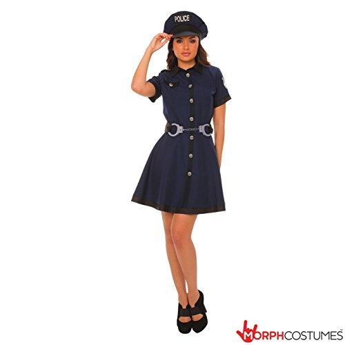 Costume sexy Cop Femme Petit Moyen (Miami Halloween Kostüme)