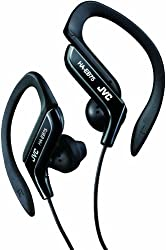 JVC Sport Style-Ear-Clip-Kopfhörer in schwarz