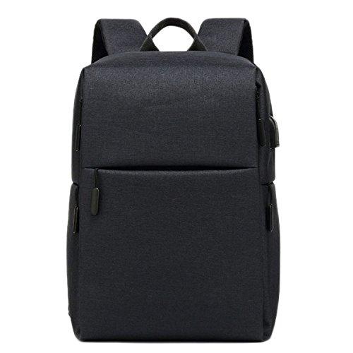 Business Laptop Tasche Oxford Tuch Tasche Multi-funktionale Rucksack Usb-schnittstelle Lässig Reise Rucksäcke Große Kapazität Taschen Exquisite Verarbeitung In