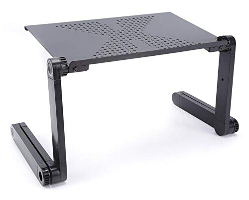 Laptop Stand Multifunktionale Faltbare Laptop Table Desk Bed Sofa Tray 360 Rolling Adjustable Portable Notebook Desk - Stand Adjustable Keyboard Tray