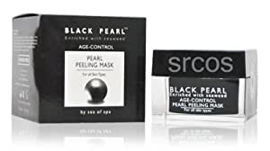 Nourishing Night Cream - Black Pearl Cosmetics | Anti Aging Skin Treatment | Enriched with pearl powder, seaweed & Dead Sea minerals + 2 FREE samples by Sea Of Spa (English Manual)