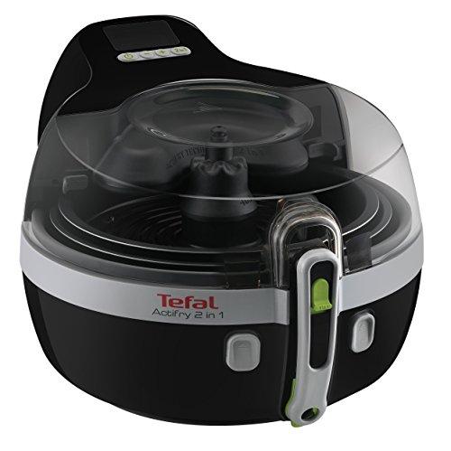 Tefal Actifry YV9601 - Freidora 2 en 1 (potencia de 1400 W, 1,5 l), color negro