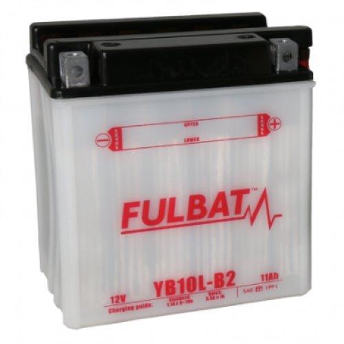Fulbat - Batterie moto YB10L-B2 12V / 11Ah