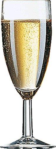 Arcoroc 39082 12 Sektgläser Sektkelch Reims 14,5 cl ohne Füllstrich