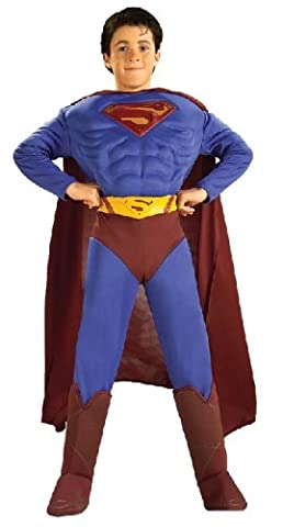 Dorigine Costume Superman - DEGUISEMENT COSTUME SUPERMAN OFFICIEL MARVEL RUBIE'S RETURNS