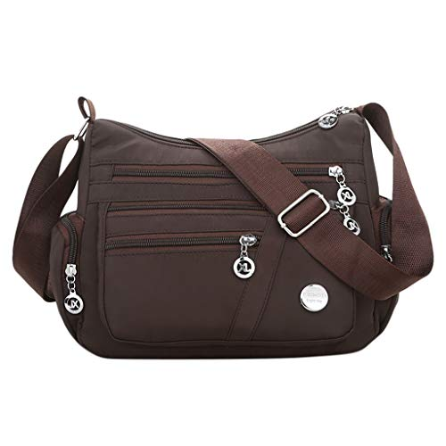 About1988 Handtaschen Damen Taschen Umhängetaschen Schultertaschen Handtaschen Mode Shopping Damen handtaschen Messenger Tasche (Braun)