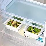 Maison & White Paquete de 4 cajones de caja de almacenamiento para...
