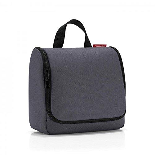 reisenthel toiletbag graphite  Maße: 23 x 20 x 10 cm / Maße: 23 x 55 x 8,5 cm expanded / Volumen: 3 l