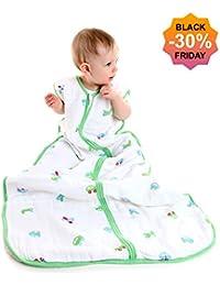 El saco de dormir Slumbersac para bebés, de aprox. 2.0 Tog – Coches– en varios tamaños: desde el nacimiento hasta 6 años