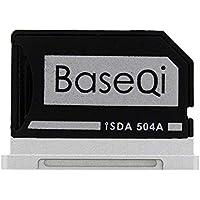 BASEQI FBA_iSDA504ASV Aluminium-microSDD-Adapter funktioniert mit MacBook Pro 15 Zoll Retina (ab 2013)
