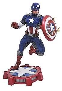 Marvel Comics AUG172640 - Figura de exposición de Capitán América Now de PVC.