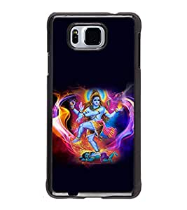 printtech Lord God Shiva Om Back Case Cover for Samsung Galaxy Alpha G850