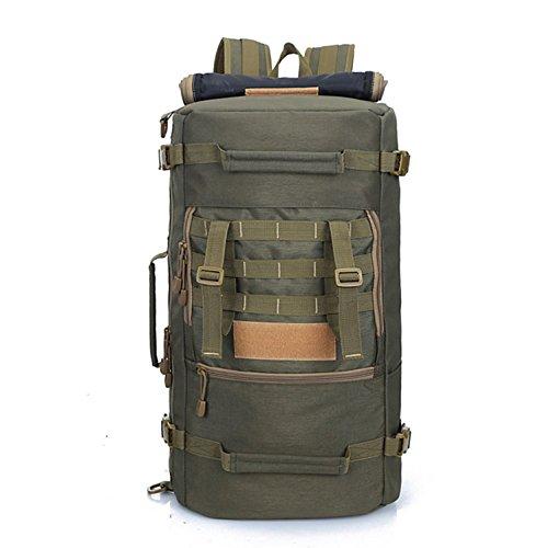 Outdoor schulter Rucksack camouflage Bergsteigen Tasche großer Kapazität Rucksack schulter Rucksack 56 * 30 * 19 cm, Army green 50 L Armee Grün 50 L