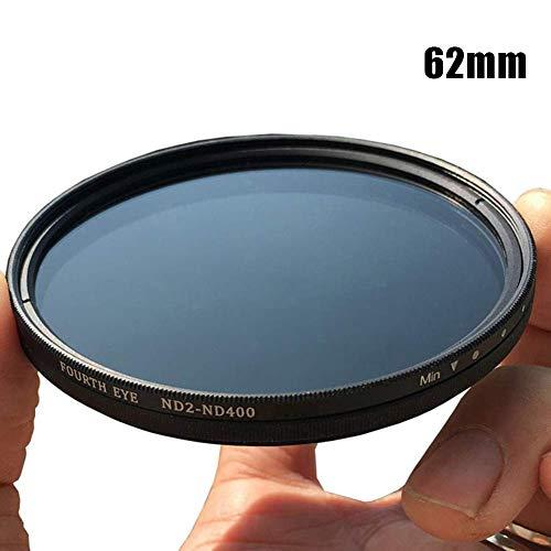 Cutito ND2-400 Graufilter Nd-Filter, Variable Einstellbar Optisch Fader Glas Linse - 95mm