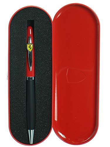 elegante Logo resina con estuche de metal 57187/G Ferrari Bol/ígrafo a bola Fiorano