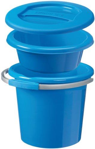 Sunware 16600011 Water line - Set di bacinelle e secchi, misura piccola, 12 l