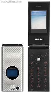Toshiba TS10 Téléphone Mobile Clapet Actif Argent
