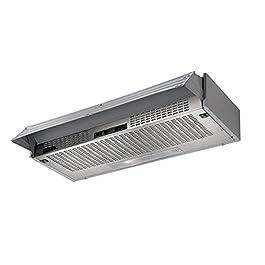 Faber – Cappa cucina sottopensile 60 modello 152 LG con filtro carbone originale faber e filtri sintetici