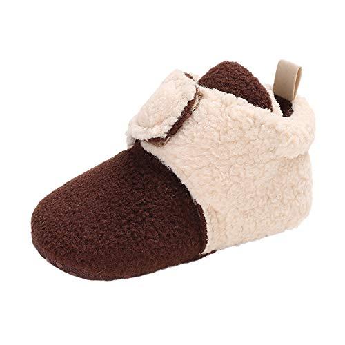 Beikoard Babyschuhe Baby Mehrfarbenstiefel Kleinkind Beschuht Weiche Untere Schuhe Mädchen Jungen Weiche Booties Schnee Stiefel Kleinkind warme Schuhe