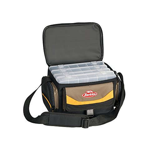 Berkley tackle bag grey yellow