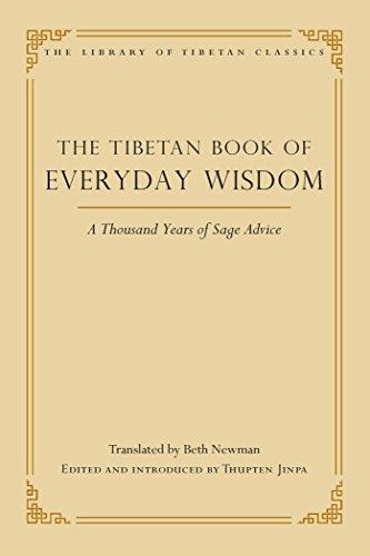 The Tibetan Book of Everyday Wisdom (Library of Tibetan Classics 1) (English Edition)