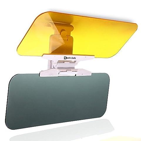 Zento Deals transparent Sonne Visier Tag und Nacht blendfrei