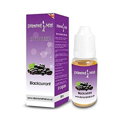 Diamond Mist 10 ml Black Currant E-Liquid from Diamond Mist