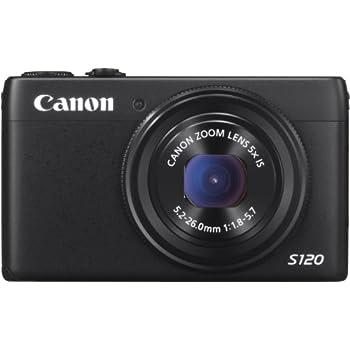 Canon PowerShot S120 Fotocamera Digitale 12 Megapixel, Nero