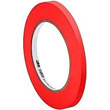 """TapeCase 3m 3903.240en X 50yd rojo vinilo adhesivo de caucho de/convertir de 3M cinta americana de 3903, 12,6PSI resistencia a la tensión, 50Yd. Longitud, 0,24""""Ancho"""