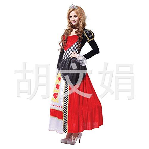 Kostüm Pfirsich Erwachsene Für - wojiaxiaopu Halloween Maskerade Party Kostüm Erwachsene Königin Dress up Königin Kostüm Erwachsene Pfirsich Herz Königin Code