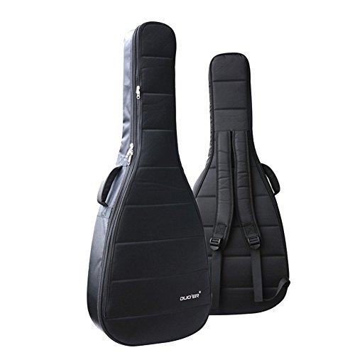 Ele Eleoption Wasserdicht Oxford Gitarre Bag 40104,1cm Fall Nylon gepolstert E-Gitarrentasche Gigbag für Akustik- und klassische Gitarren Wasserdicht Stoßfest