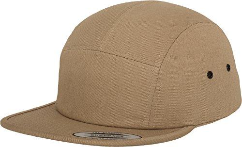 Flexfit Erwachsene Mütze Classic Jockey Cap Khaki, One size
