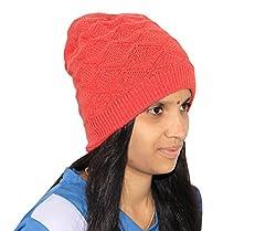 Goodluck Womens Winter Wollen Cap