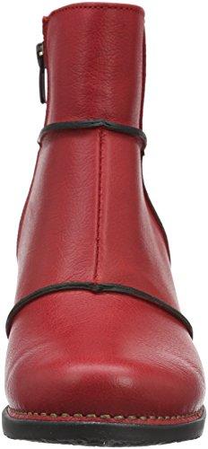 art GENOVA, Bottes Classiques femme Rouge - Rot (Carmin)